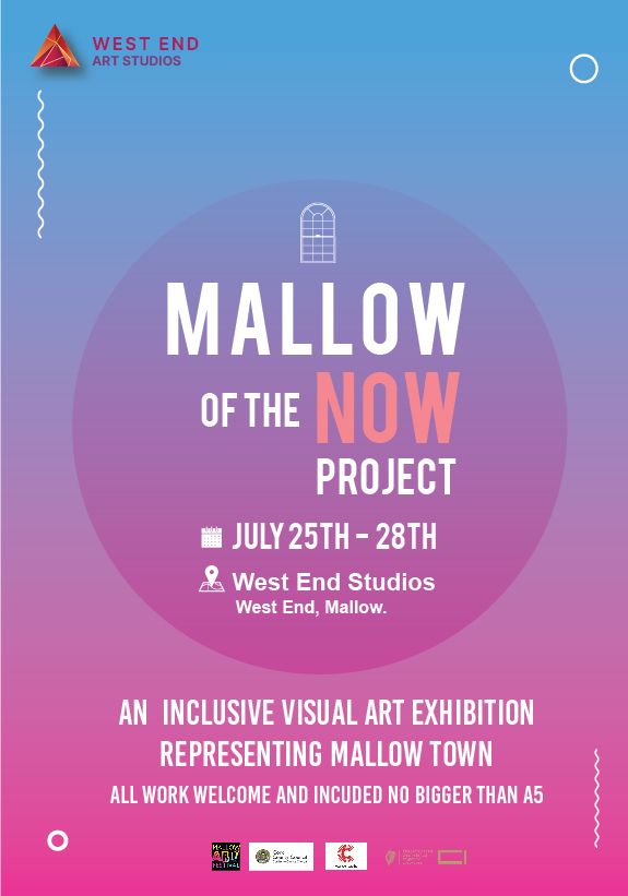 Mallow of the Now poster with logos